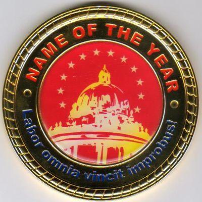 Медаль Имя года